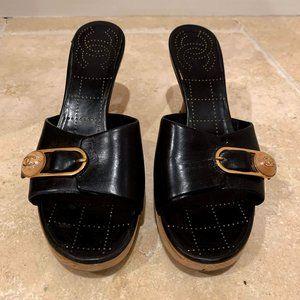 Vintage CHANEL Sandal Heels